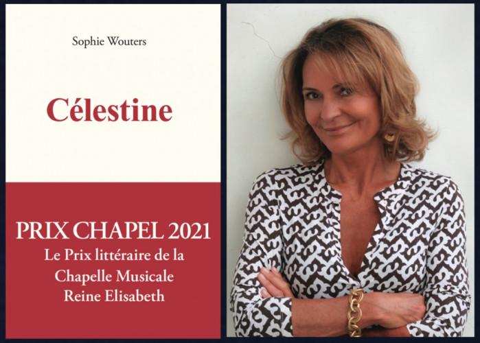Sophie Wouters, lauréate duPrix Chapel 2021, avec Célestine
