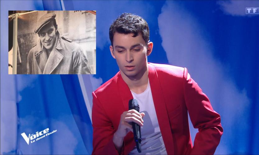 Boris Vian s'invite dans The Voice : Tarik chanteLe Déserteur