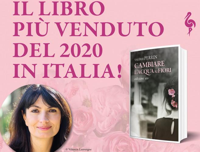 Best-sellers 2020 en Italie : Valérie Perrin en tête du classement
