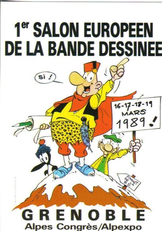 grenoble salon bande dessinée 1989