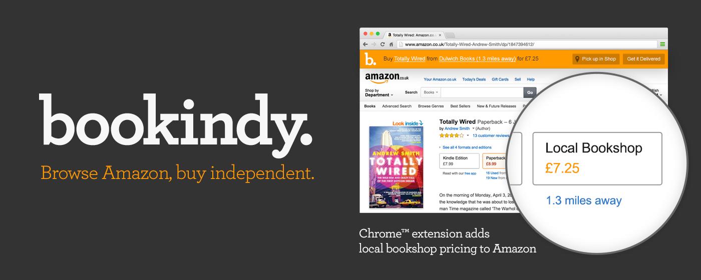 Bookindy extension chrome amazon librairie indépendante