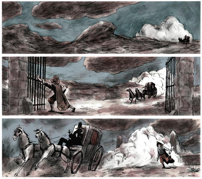 Et la première planche de Goya