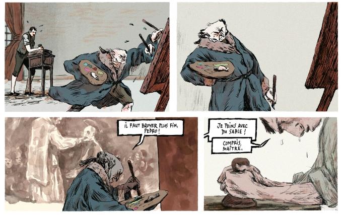 Un peu de Goya au travail