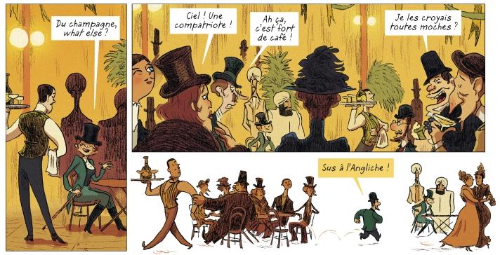Toulouse-Lautrec en BD