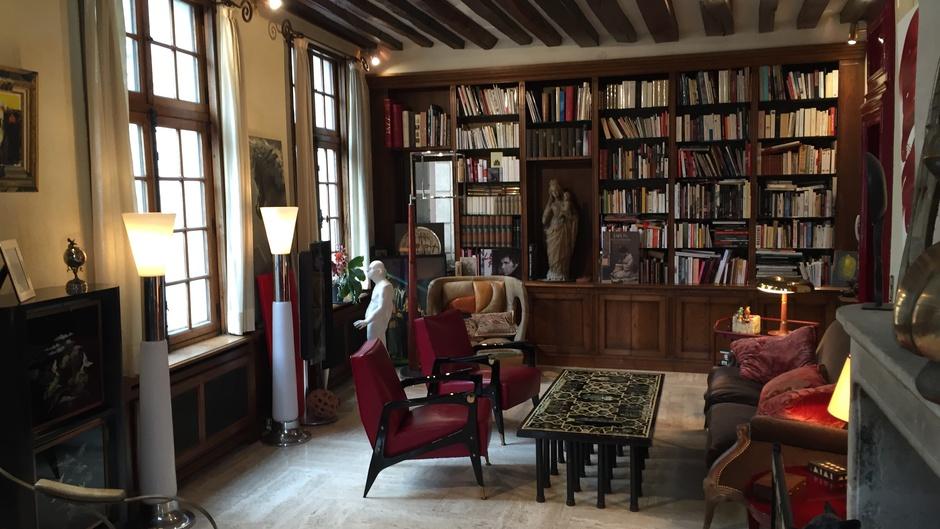 France 5 se rend dans la maison des artistes, à la découverte du