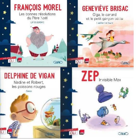 """Une Histoire et Oli"""", sur France Inter, de l audio aux livres"""