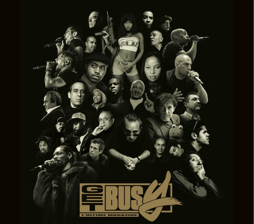 Get Busy, le magazine Hip-Hop pour people et voyous, sort son Anthologie