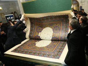 Le Coran le plus grand du monde est russe