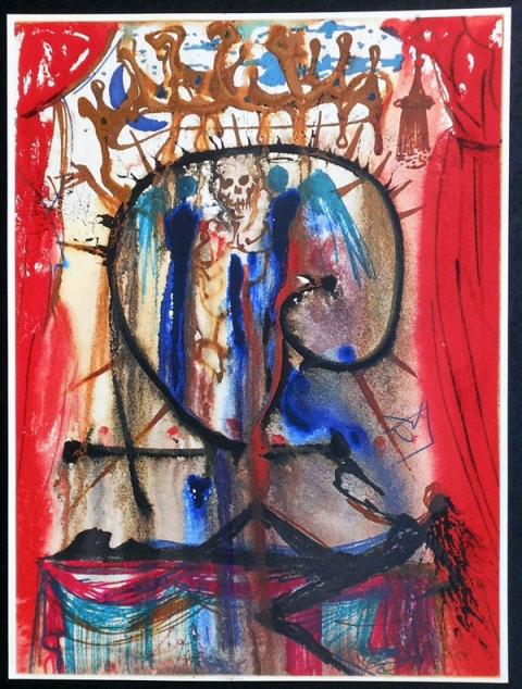 Romeo Et Juliette Tragedie Illustree Par Salvador Dali